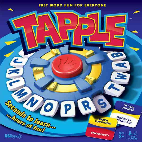 Tapple : Fast Word Fun for Everyone! By Usaopoly (COR)